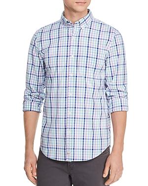 Vineyard Vines Hawksbill Tattrsll Plaid Slim Fit Button-Down Shirt