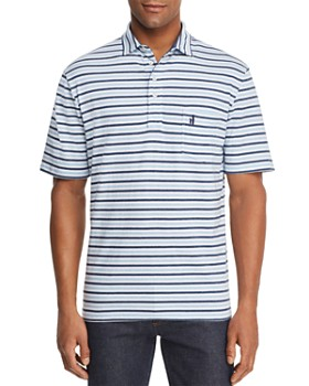 Johnnie-O - Palmetto Two-Tone Striped Regular Fit Polo Shirt
