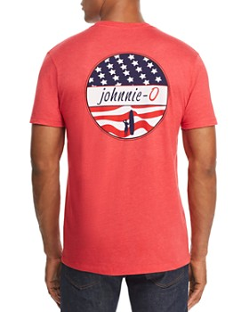 Johnnie-O - Star Spangled Logo Graphic Tee