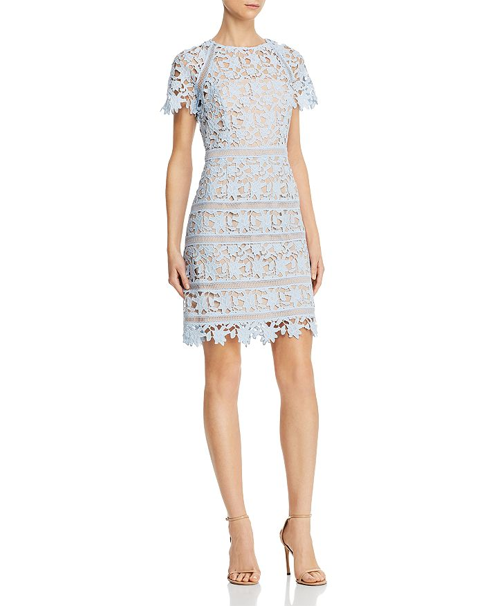 Eliza J - Floral Guipure-Lace Dress