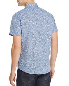 BOSS Hugo Boss - Rash Short-Sleeve Floral-Print Regular Fit Shirt