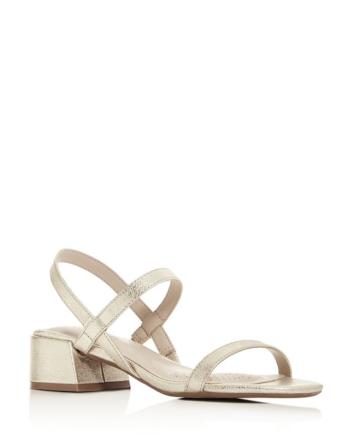486ab34b7c7 Women's Maisie Slingback Block-Heel Sandals