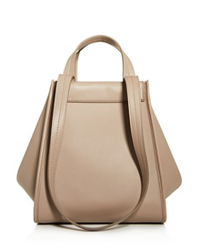 78d125a353b1 Max Mara - Leather & Cashmere Large Reversible Tote ...