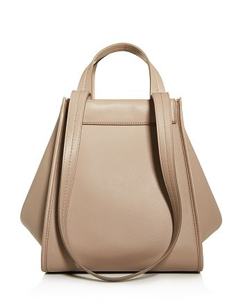 Max Mara - Leather & Cashmere Large Reversible Tote