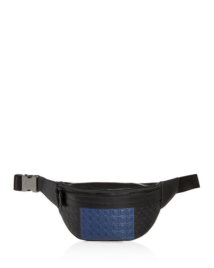 Salvatore Ferragamo - Firenze Gamma Stripe Leather Belt Bag