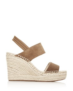 Kenneth Cole - Women's Olivia Espadrille Platform Wedge Sandals