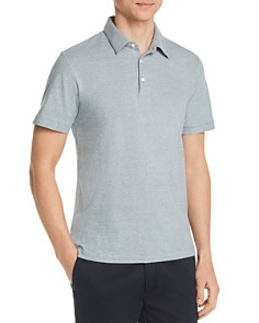 Theory - Bron Feeder Stripe Regular Fit Polo Shirt - 100% Exclusive