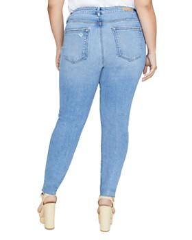 Sanctuary Curve - Solution Social Skinny Jeans in Zuma Beach Blue