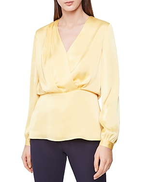 Reiss Tops MIRANDA PLUNGING BLOUSE
