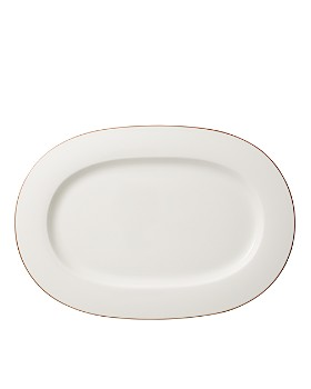 Villeroy & Boch - Anmut Rosewood Oval Platter - 100% Exclusive