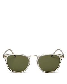 Oliver Peoples - Men's Roone Square Sunglasses, 49mm