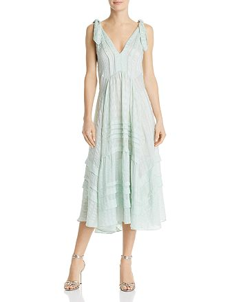 Rebecca Taylor - Pleated Silk Dress