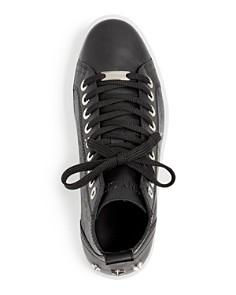 Jimmy Choo - Men's Colt Embossed Leather High-Top Sneakers