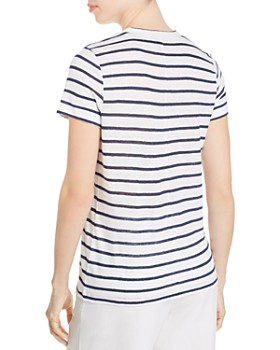 NIC and ZOE - Seaside Striped Linen Tee