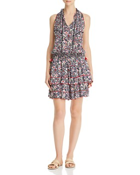 Poupette St. Barth - Amora Floral Blouson Dress
