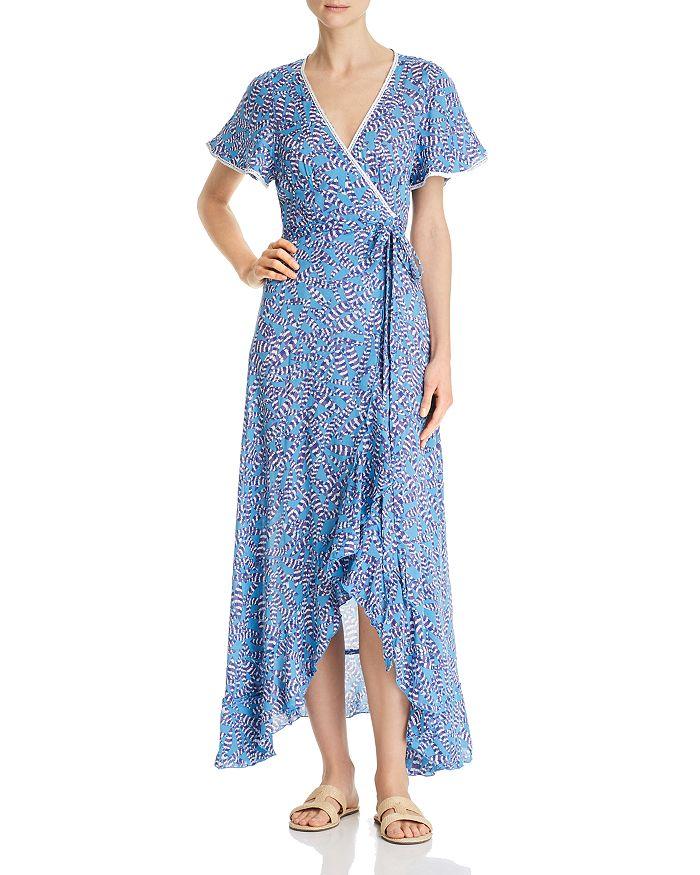 Poupette St. Barth - Joe Ruffled Wrap Dress