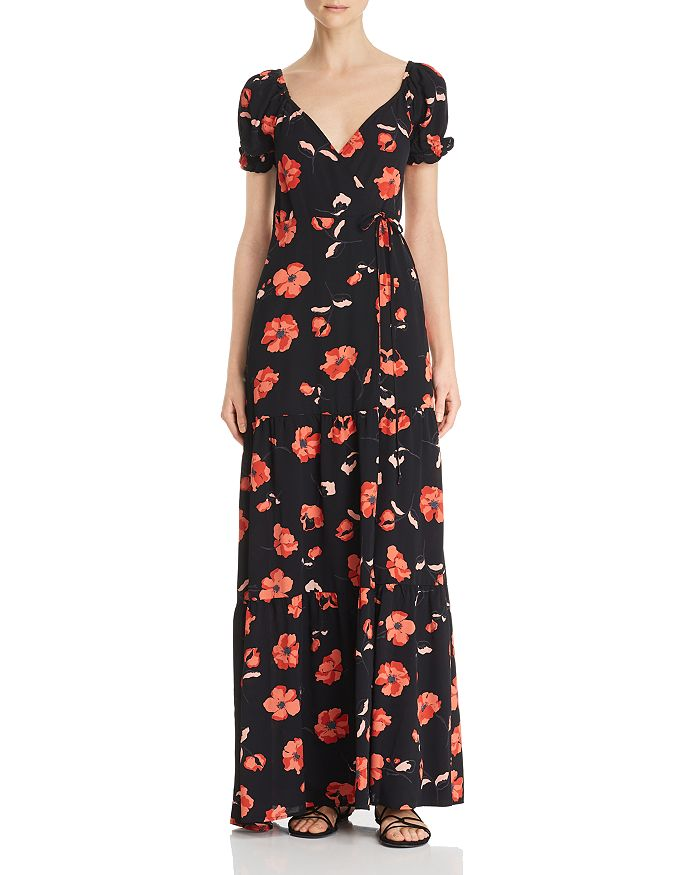 Flynn Skye - Ann Floral Maxi Wrap Dress