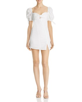 For Love & Lemons - Macaroon Hook-Front Mini Dress