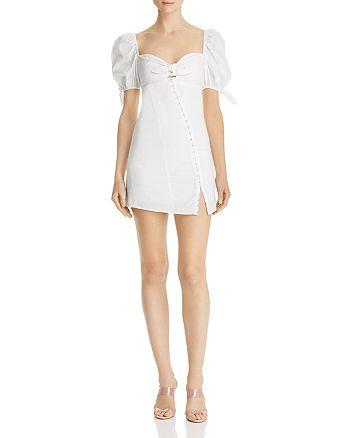 For Love & Lemons - Macaroon Hook-Front Mini Dress