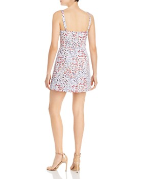 FRENCH CONNECTION - Frances Botanical-Print Mini Dress