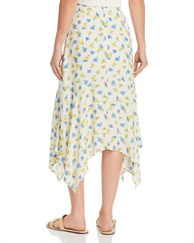Lost and Wander - Mama Mia Floral-Print Midi Skirt