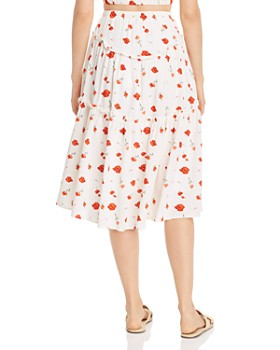 a7913a85412d Midi Women's Skirts: A Line, Full, Midi, Maxi & More - Bloomingdale's