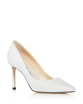 yet not vulgar hoard as a rare commodity price reduced White Pumps - Bloomingdale's