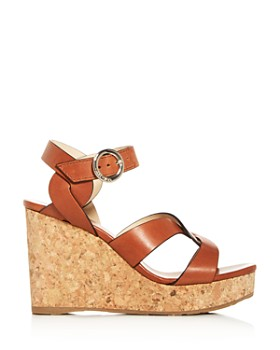 Jimmy Choo - Women's Aleili 100 Platform Wedge Sandals