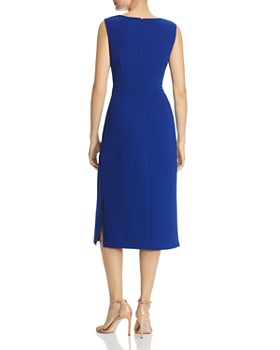 Adrianna Papell - Tie-Front Sheath Dress