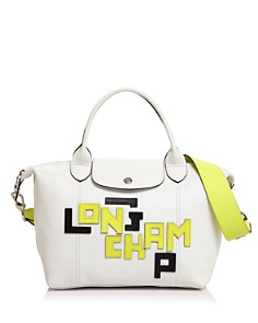 Longchamp - Le Pliage Mini Leather Tote