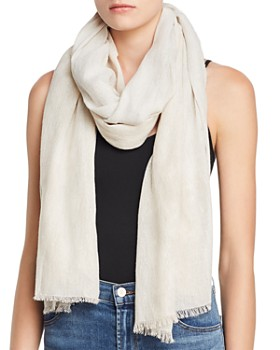 Eileen Fisher - Two-Tone Metallic Scarf