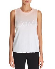 Calvin Klein - Dip-Dye Logo Tank
