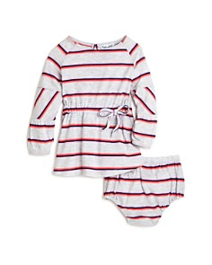 Splendid - Girls' Striped Dress & Bloomers Set - Baby