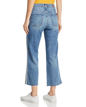 7 For All Mankind - Alexa Side-Stripe Jeans in Sloan Vintage