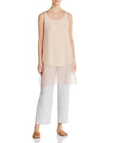 Eileen Fisher - Sheer Silk Tunic