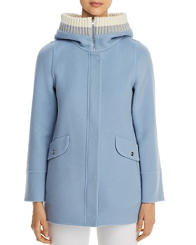 6939d93a6 Herno - Rib-Knit Hooded Cashmere Coat - 100% Exclusive ...