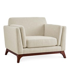 Modway - Chance Upholstered Fabric Armchair