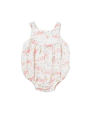 Angel Dear Girls' Narwhal Print Bubble Romper - Baby