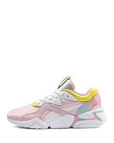 PUMA - x Nova x Barbie Women's Mixed Media Pastel Lace-Up Sneakers