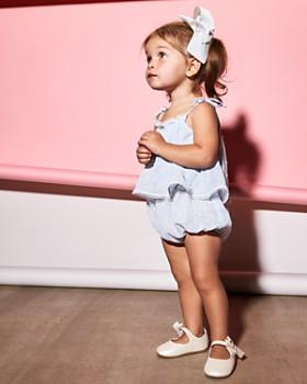 Bardot Junior - Girls' Dobby Tie-Shoulder Romper