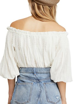 34bd26fe4d6 ... Free People - Dancing Till Dawn Off-the-Shoulder Cropped Top