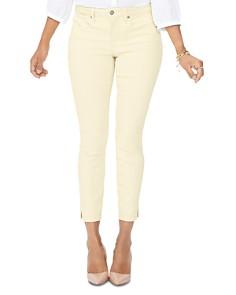 NYDJ - Ami Cropped Skinny Jeans in Marigold