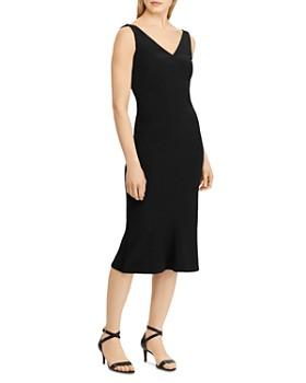 Ralph Lauren - Embellished Shoulder Sheath Dress