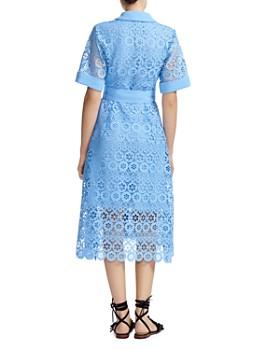 Maje - Ralfa Belted Lace Dress