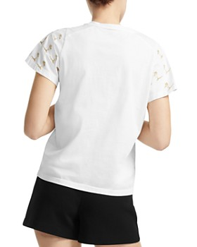 Maje - Tigrina Embroidered Tee