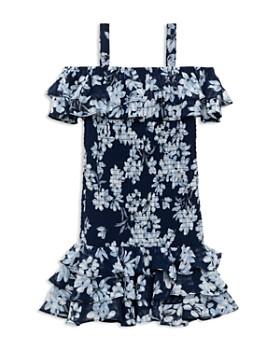 Bardot Junior - Girls' Lola Floral Print Cold-Shoulder Dress - Big Kid