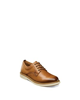 Florsheim Kids - Boys' Supacush Plain Leather Lace-Up Oxfords - Toddler, Little Kid, Big Kid