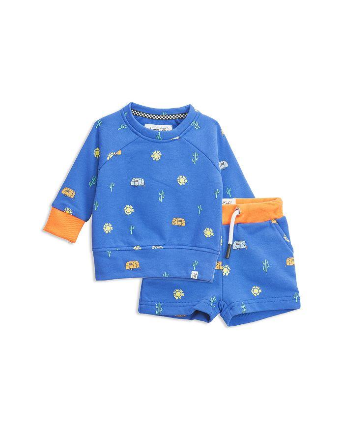 Sovereign Code - Boys' Expedition + Road Sweatshirt & Sweatshorts Set - Baby