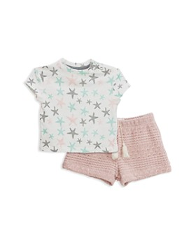 Sovereign Code - Girls' Camille + Aberdeen Star Tee & Knit Shorts Set - Baby