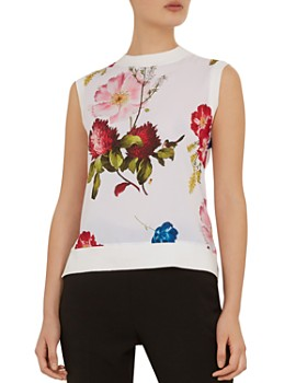 5dc937af6 Ted Baker - Silenaa Berry Sundae Floral Top ...